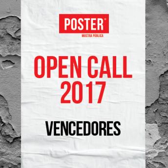 VENCEDORES OPEN CALL POSTER 2017